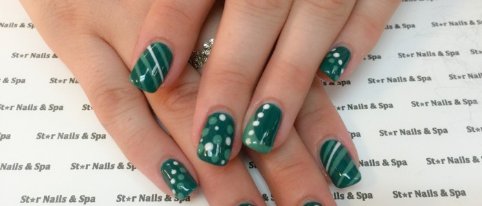 Polka Dot Nail Designs Southington Ct Star Nails Spa